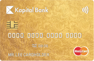 GOLD kateqoriyasına məxsus bu plastik kart dünyanın hər bir nöqtəsində maliyyə azadlığı deməkdir